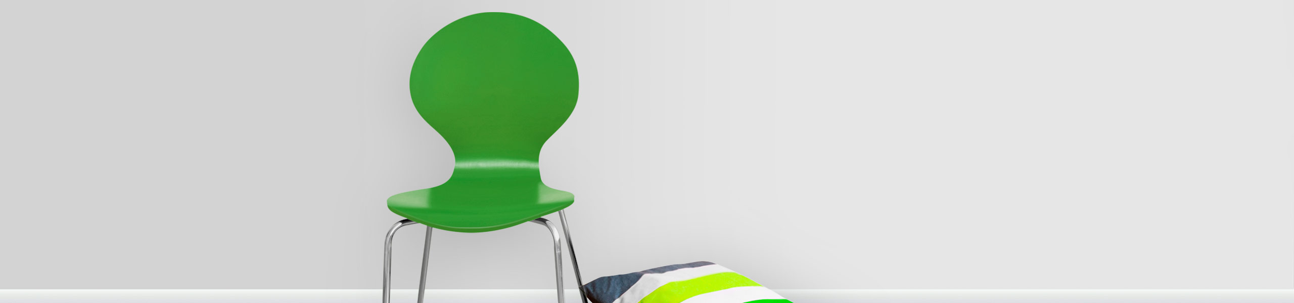 Candy Chair Green Video Banner