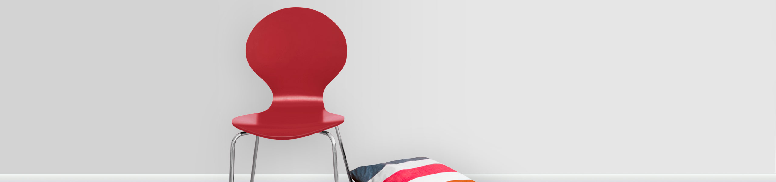 Candy Chair Red Video Banner