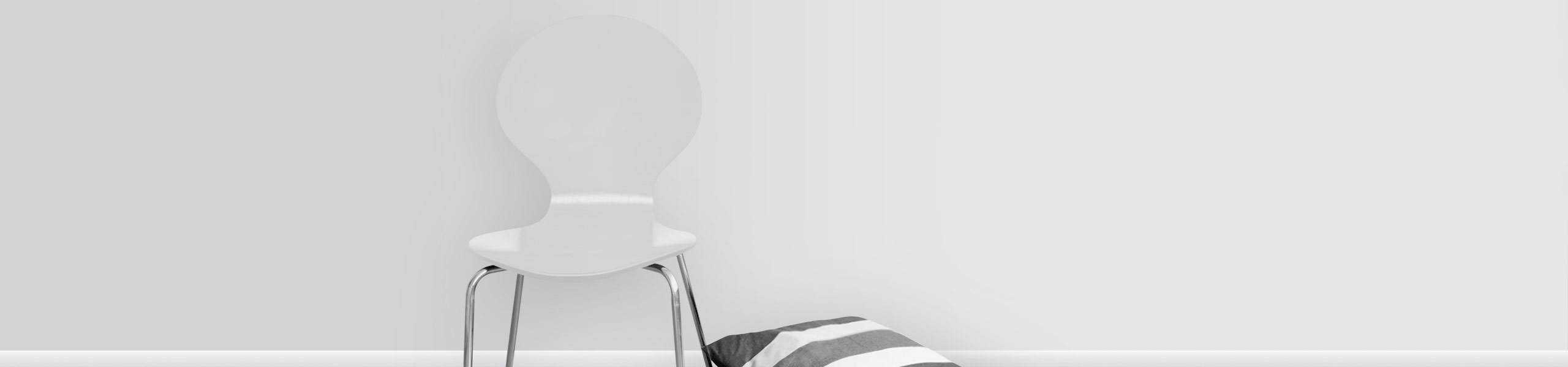 Candy Chair White Video Banner