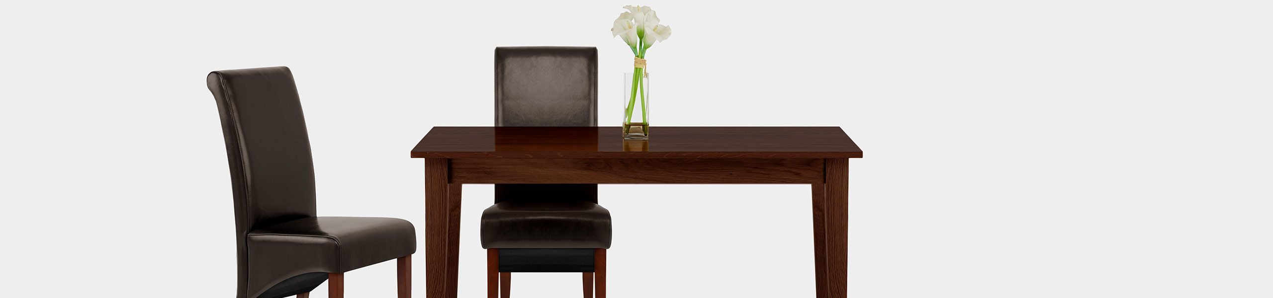Carlo Walnut Chair Brown Leather Video Banner