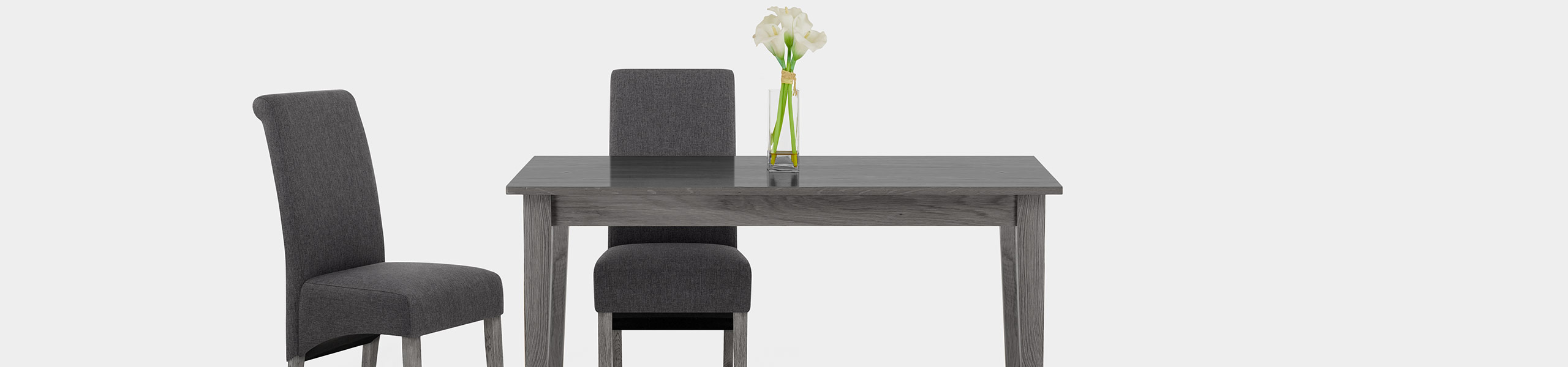 Carlo Grey Oak Chair Charcoal Fabric Video Banner