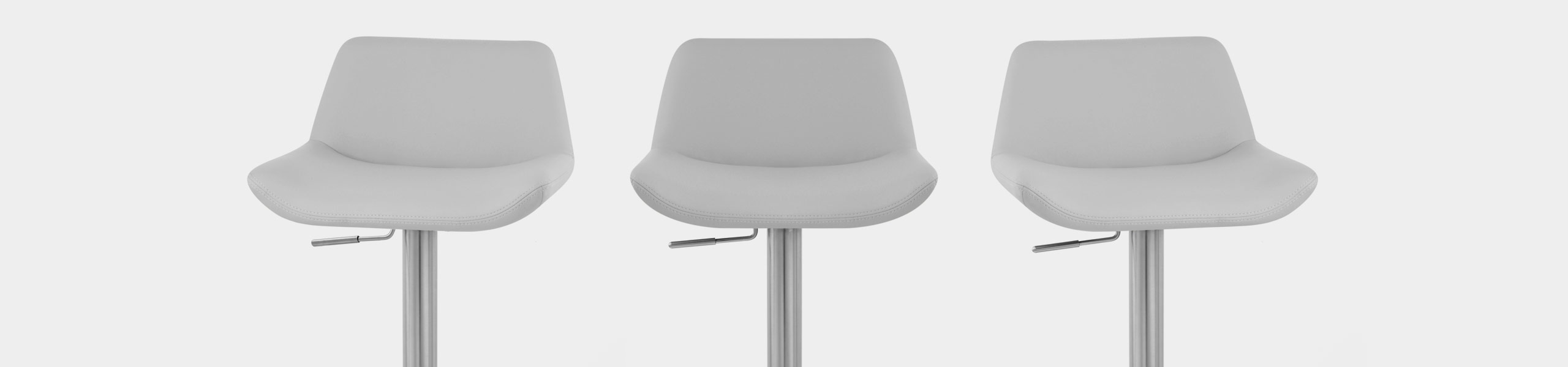 Christiana Brushed Stool Grey Video Banner