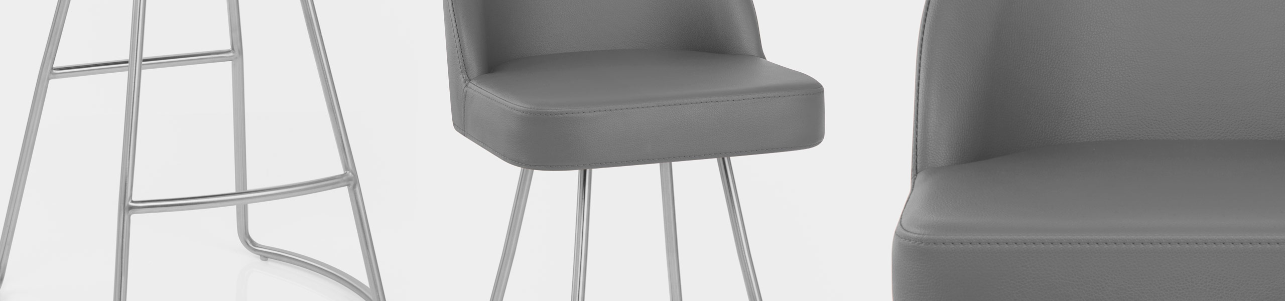 Cleo Brushed Bar Stool Video Banner