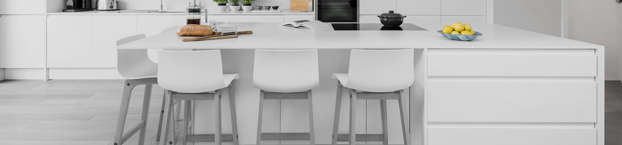 Coast Bar Stool White & Grey Video Banner
