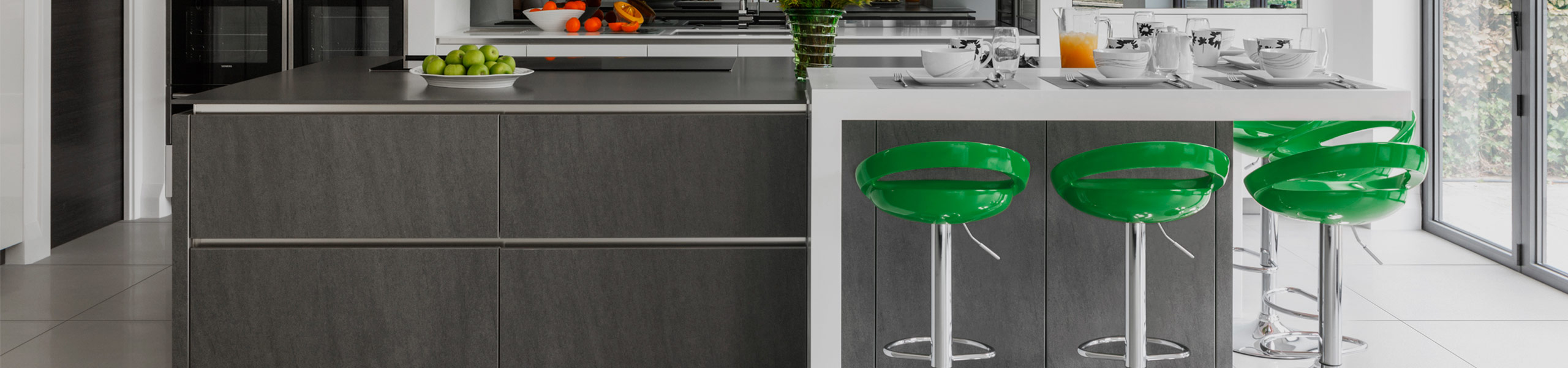 Crescent Bar Stool Green Video Banner