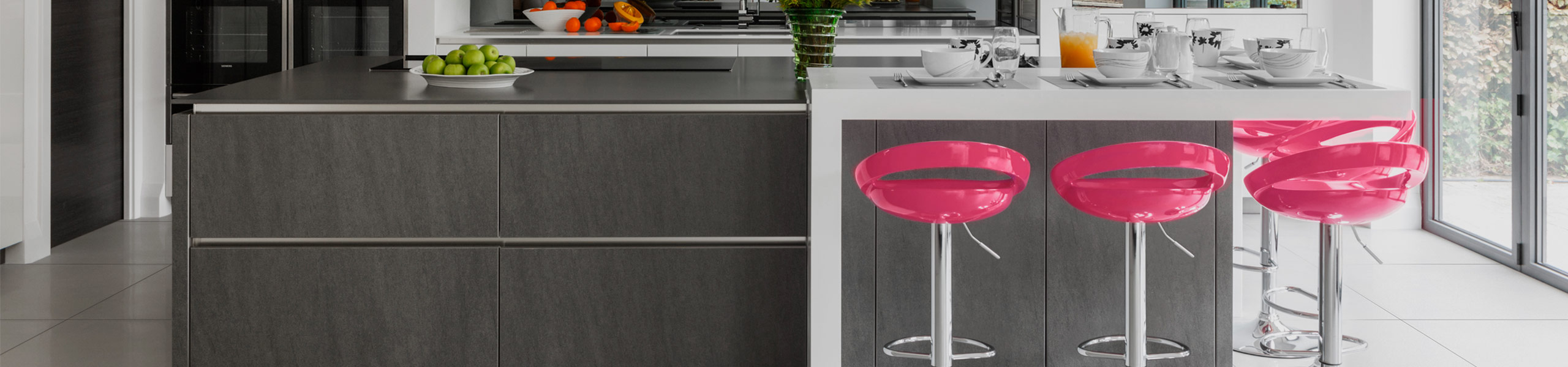 Crescent Bar Stool Pink Video Banner