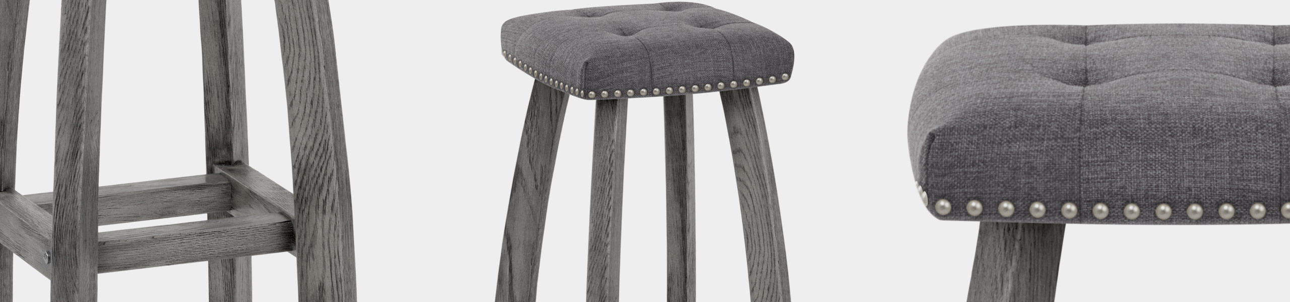 Cromwell Bar Stool Charcoal Fabric Video Banner