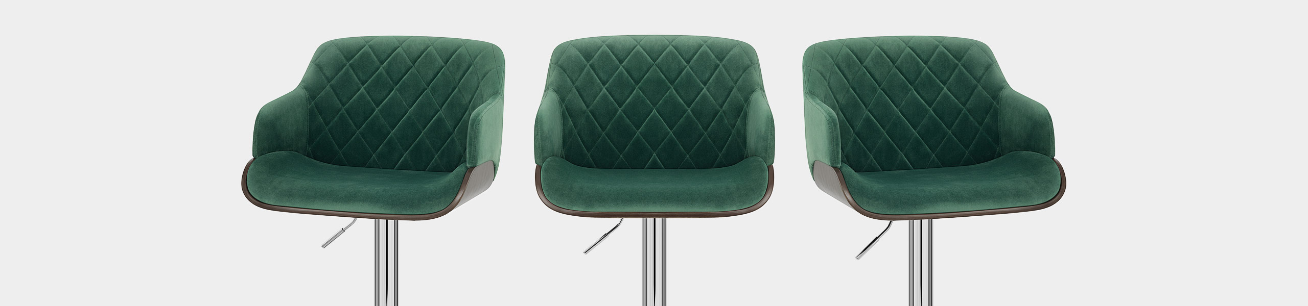Dakota Bar Stool Green Velvet Video Banner
