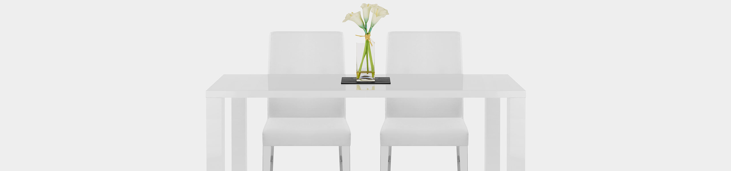 Dash Dining Chair White Video Banner