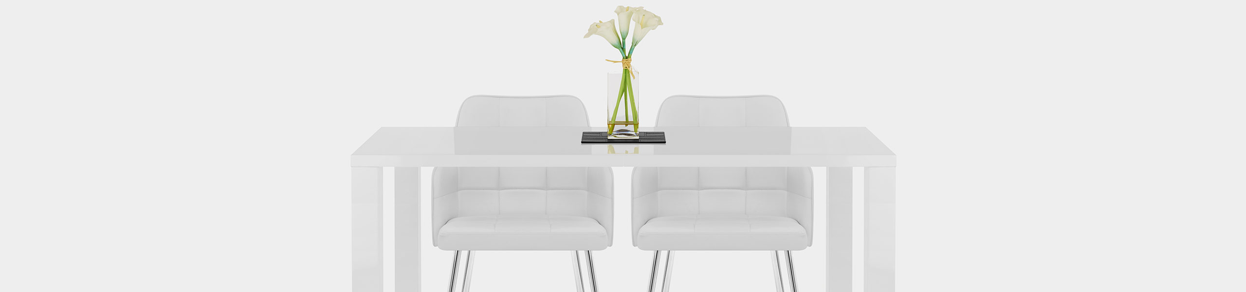 Dawn Dining Chair White Video Banner