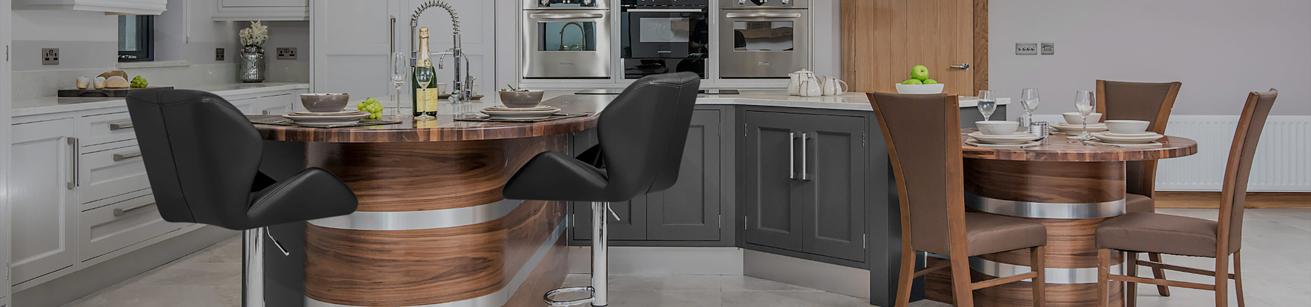 Diamond Bar Stool Black Video Banner