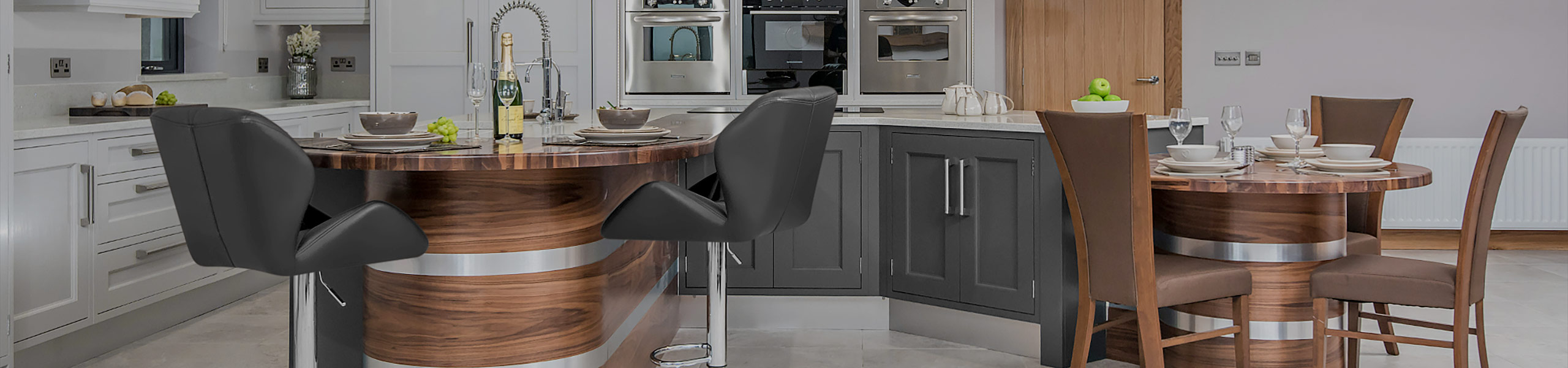 Diamond Bar Stool Grey Video Banner