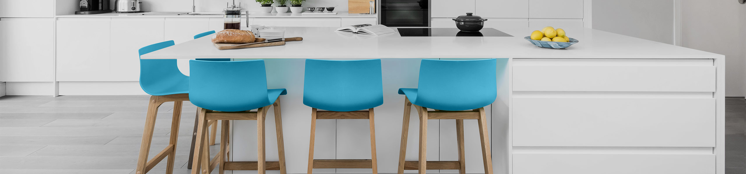 Drift Oak & Blue Bar Stool Video Banner