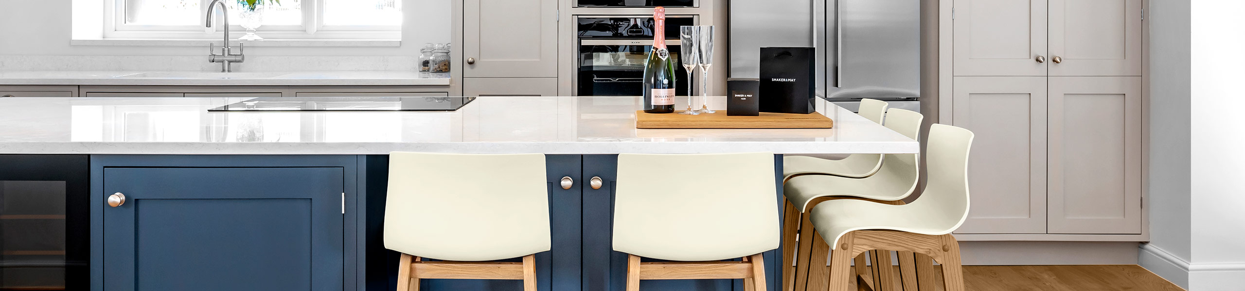 Drift Oak & Cream Bar Stool Video Banner