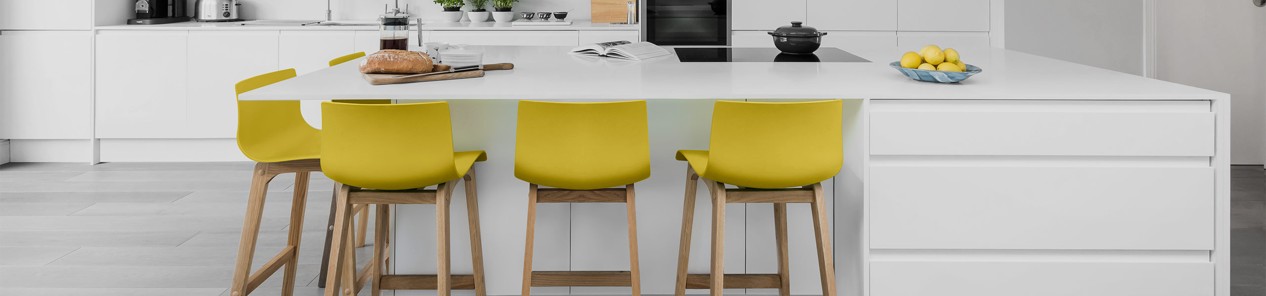 Drift Oak & Yellow Bar Stool Video Banner