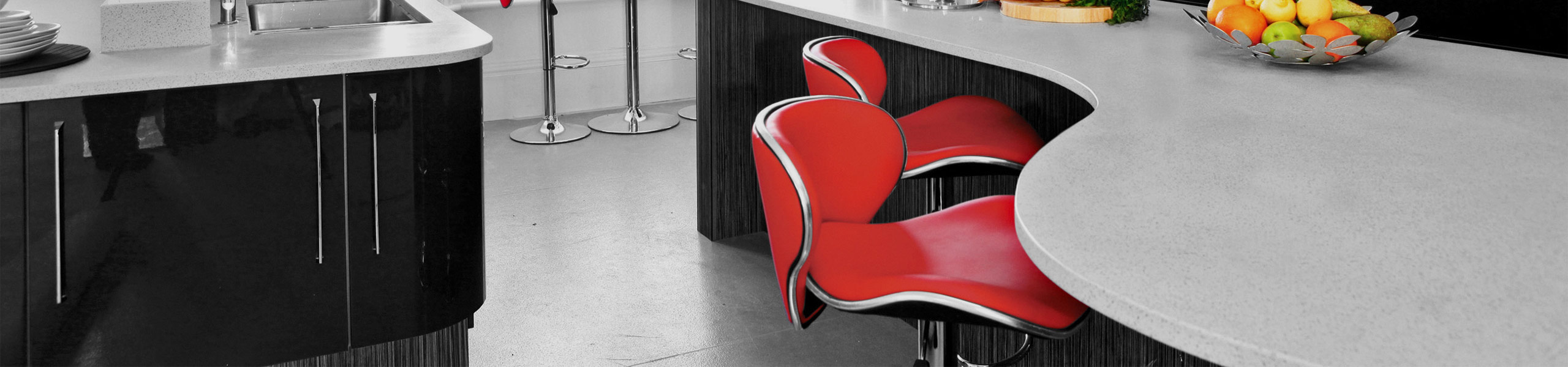 Duo Bar Stool Red Video Banner