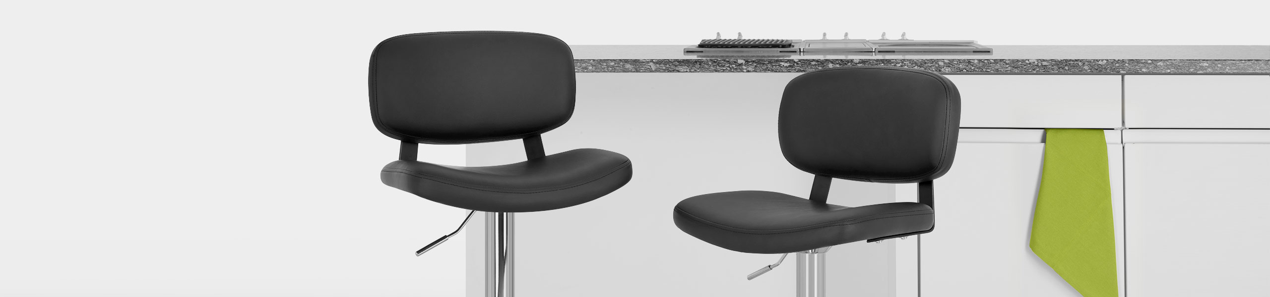 Edge Bar Stool Black Video Banner