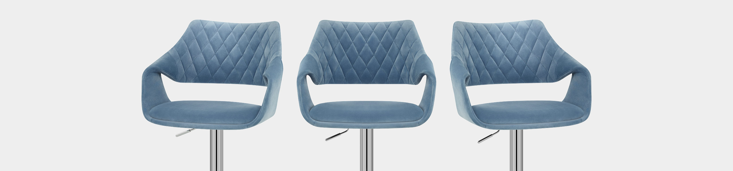 Fairfield Bar Stool Blue Velvet Video Banner