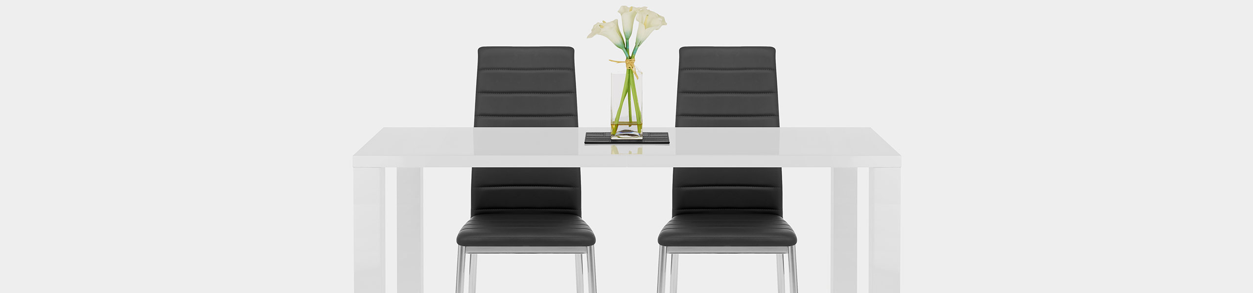 Francesca Dining Chair Black Video Banner