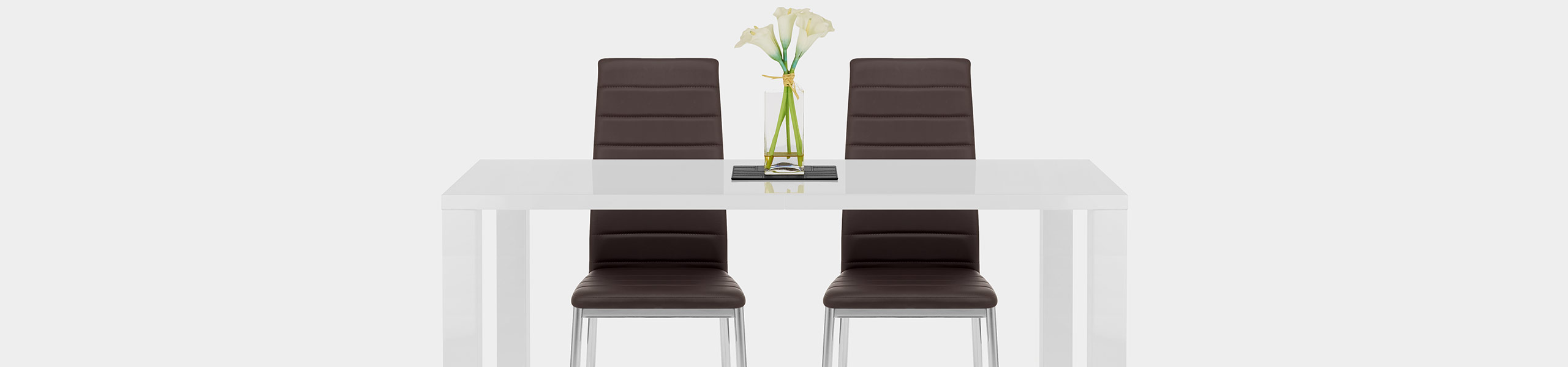 Francesca Dining Chair Brown Video Banner