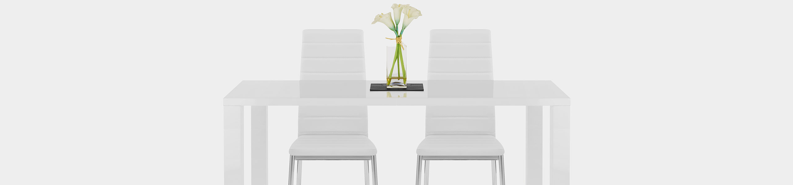 Francesca Dining Chair White Video Banner
