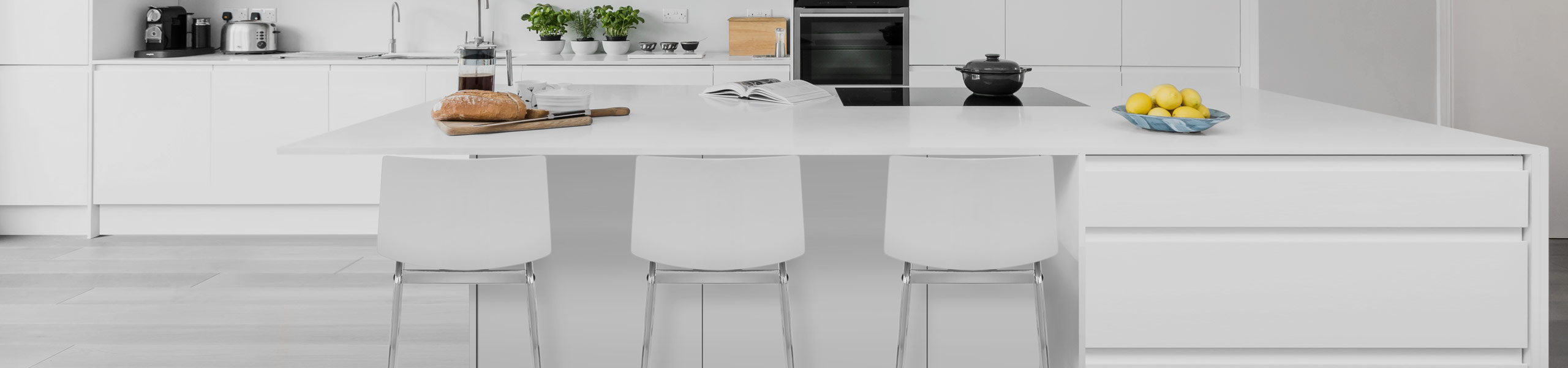 Gabriel Bar Stool White Video Banner