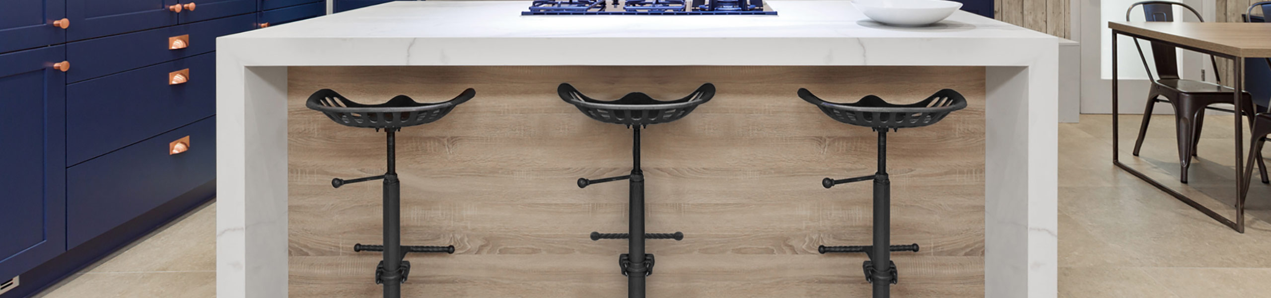 Harvester Stool Gunmetal Video Banner