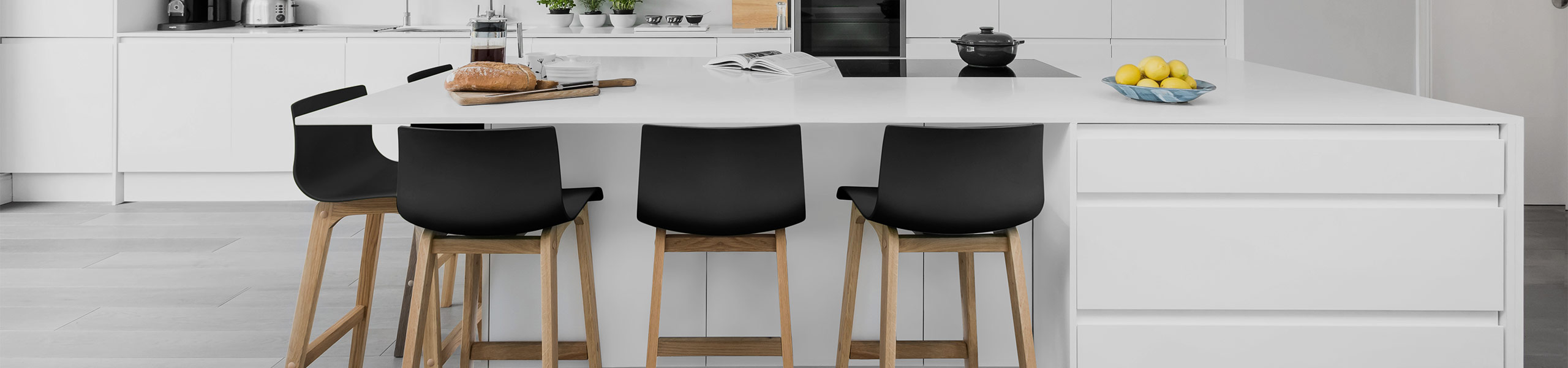 High Drift Oak & Black Bar Stool Video Banner