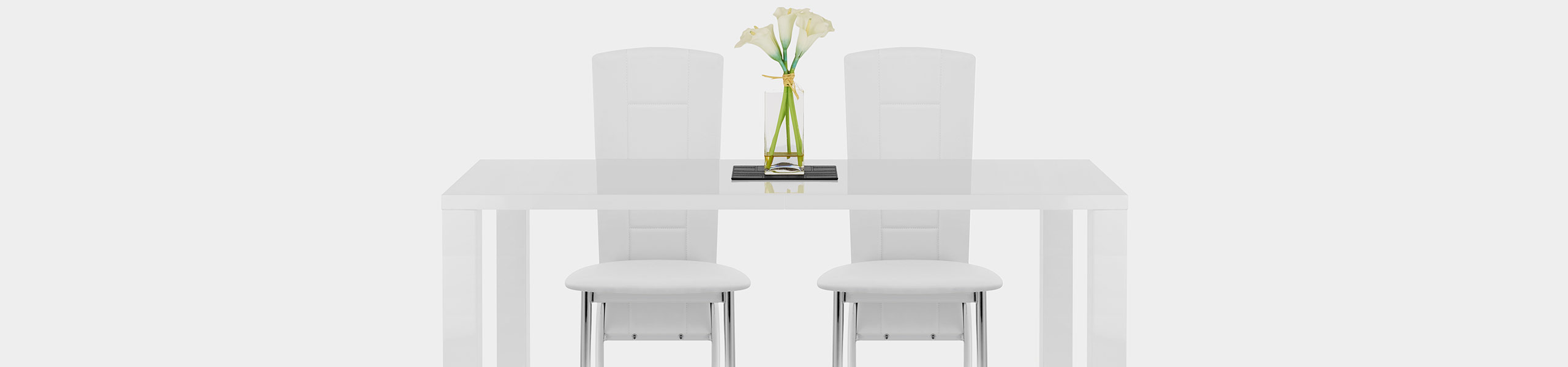 Isabella Dining Chair White Video Banner