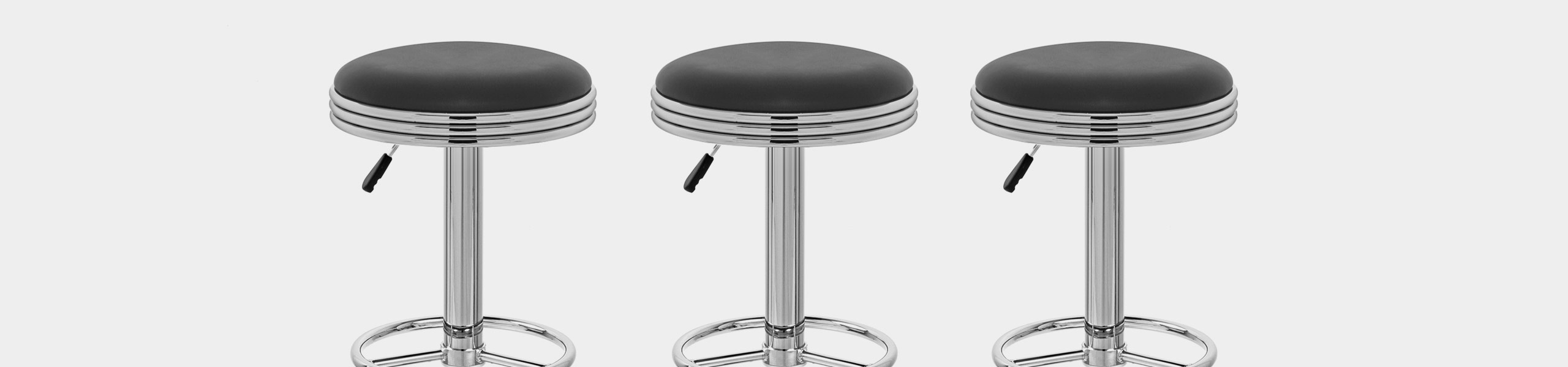 Java Diner Stool Black Video Banner