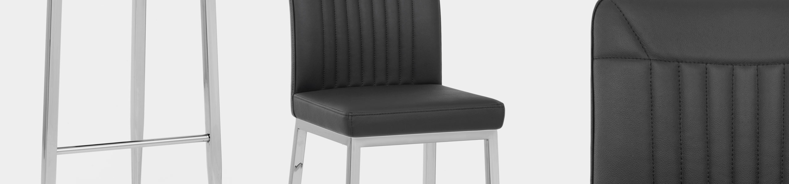 Jensen Stool Black Real Leather Video Banner