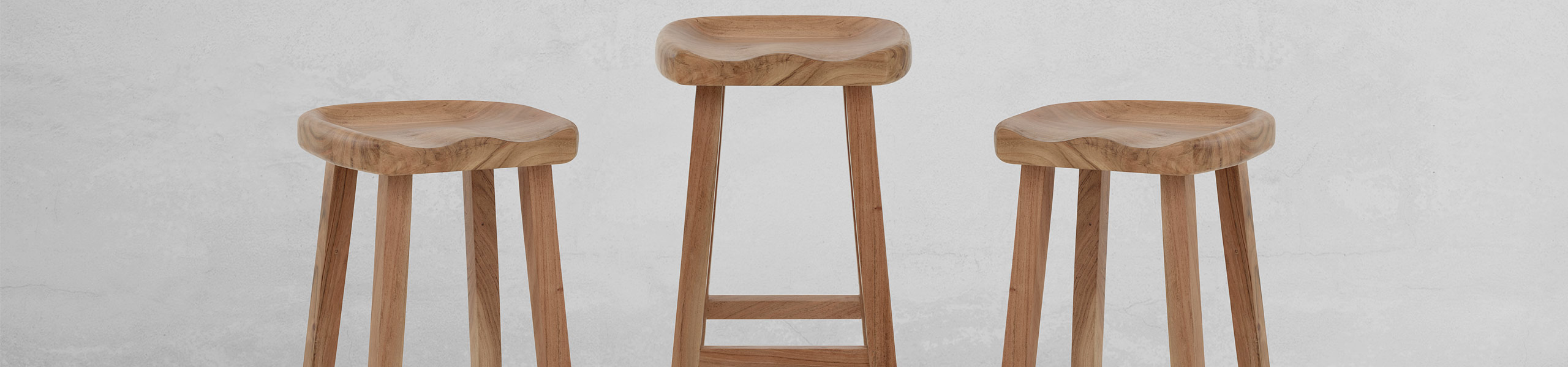 Jin Wooden Stool Video Banner