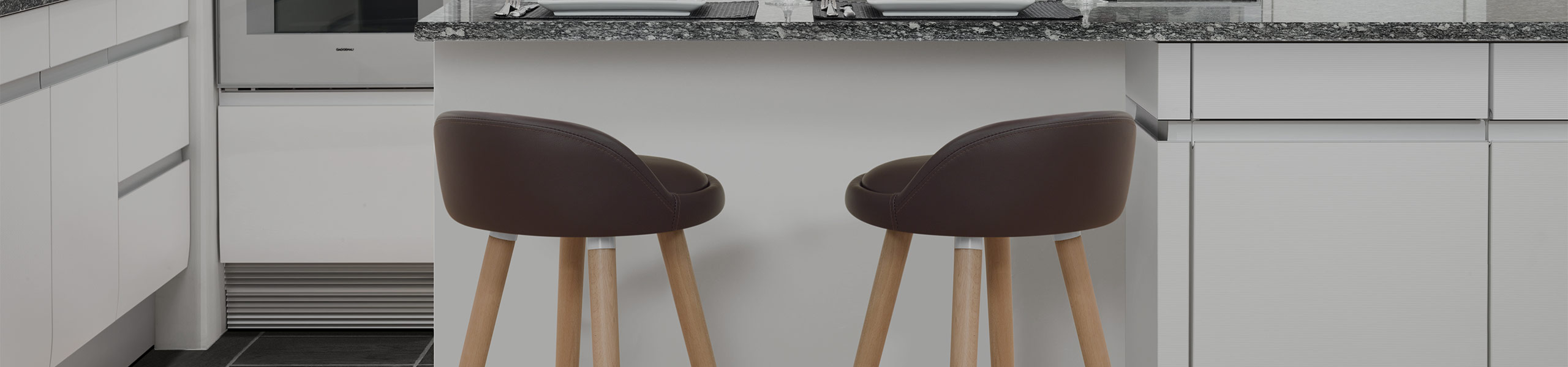 Jive Wooden Stool Brown Video Banner