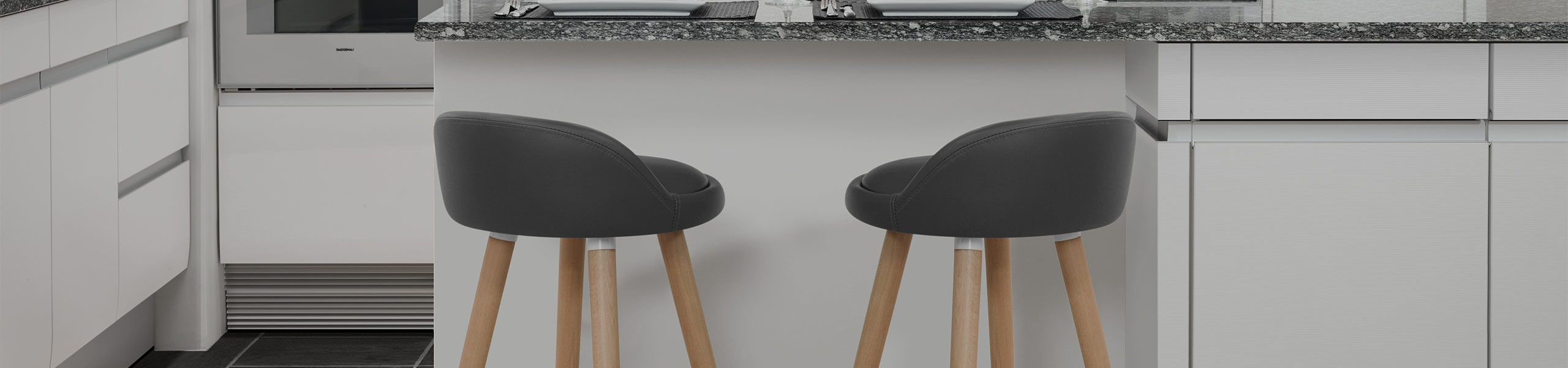 Jive Wooden Stool Grey Video Banner