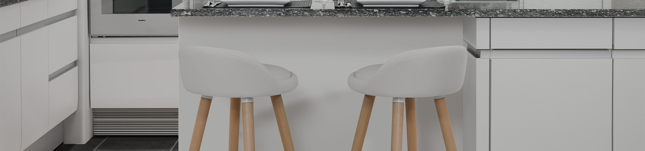 Jive Wooden Stool White Video Banner
