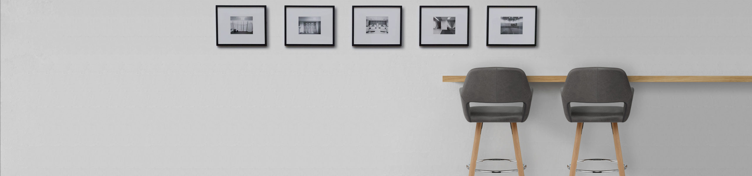 Kite Wooden Stool Grey Video Banner