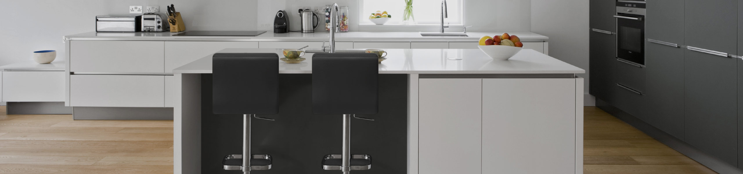 Lush Chrome Stool Black Video Banner