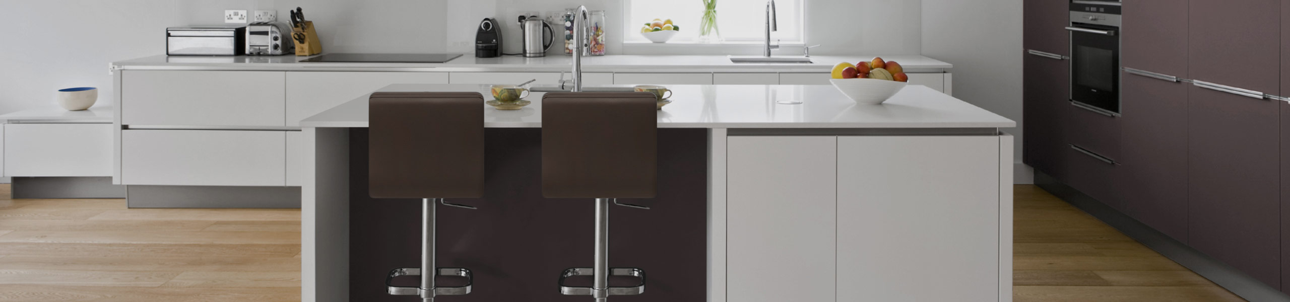 Lush Chrome Stool Brown Video Banner