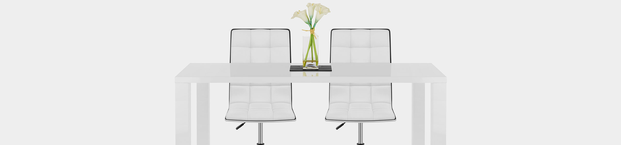 Macy Stool Chair White Video Banner