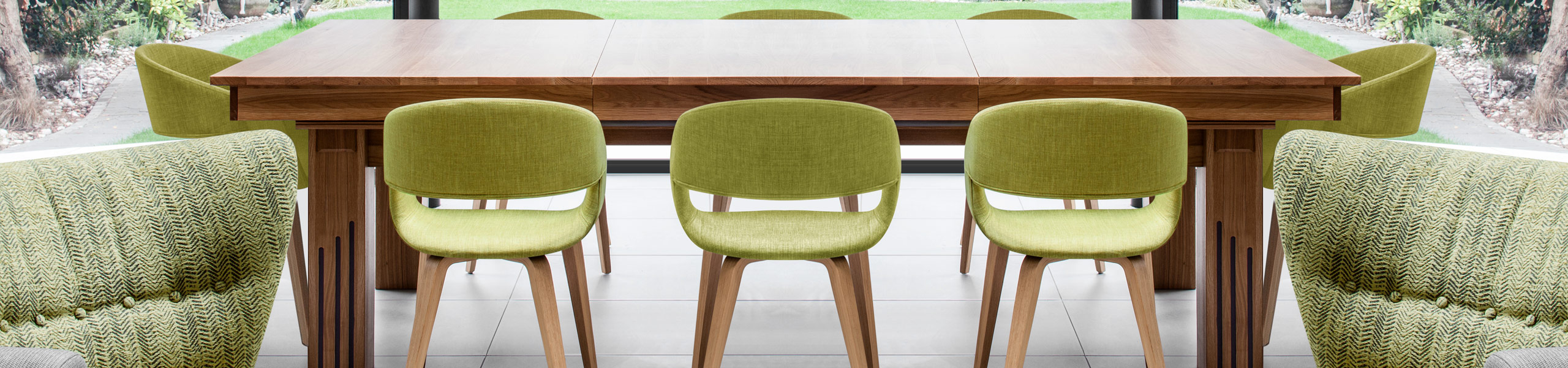 Marcus Dining Chair Green Video Banner