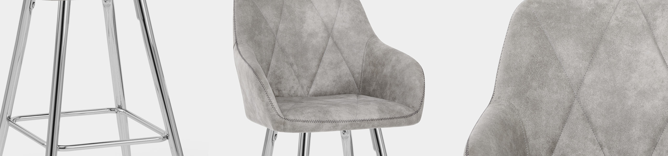Mason Bar Stool Light Grey Video Banner