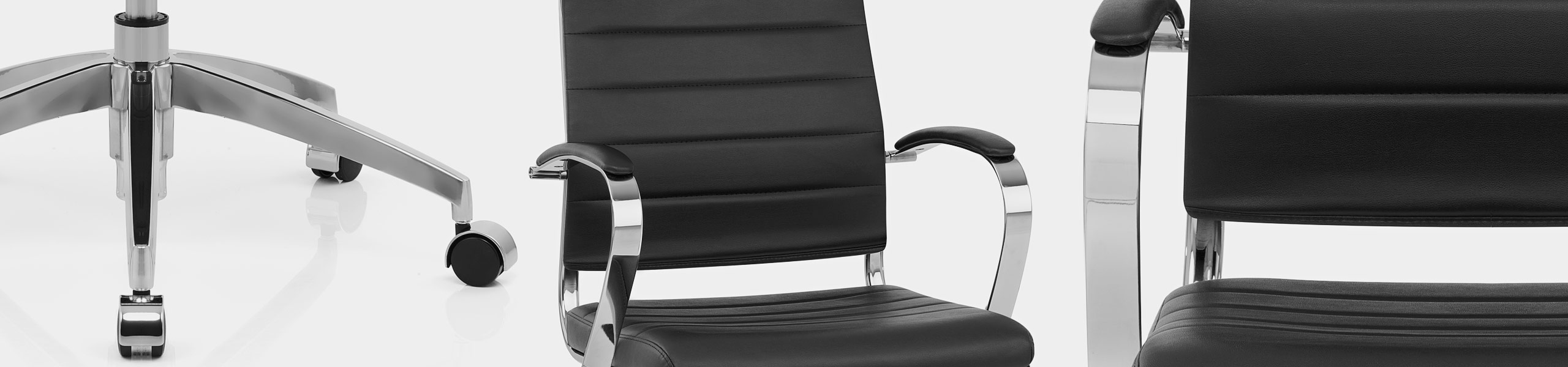 Metro Office Chair Black Video Banner