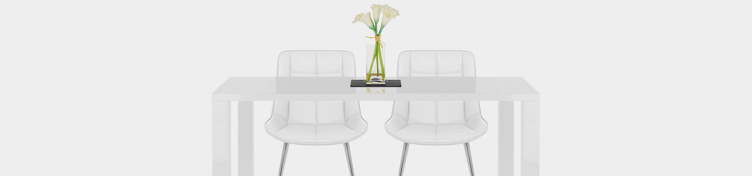 Milano Dining Chair White Video Banner