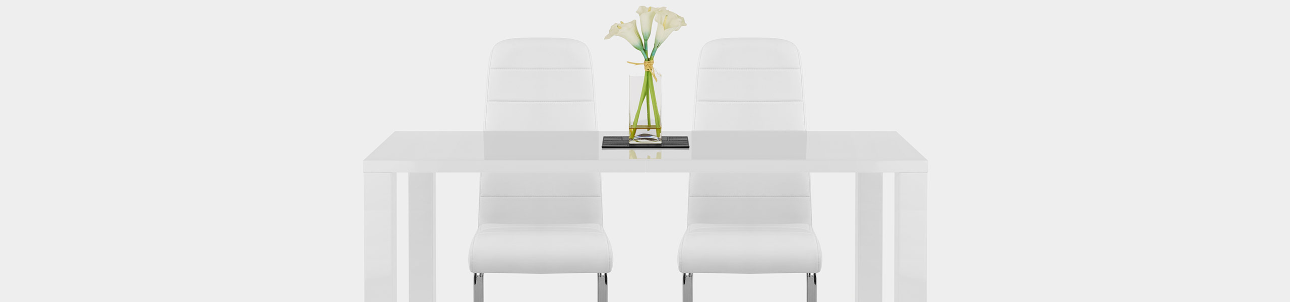 Monet Dining Chair White Video Banner