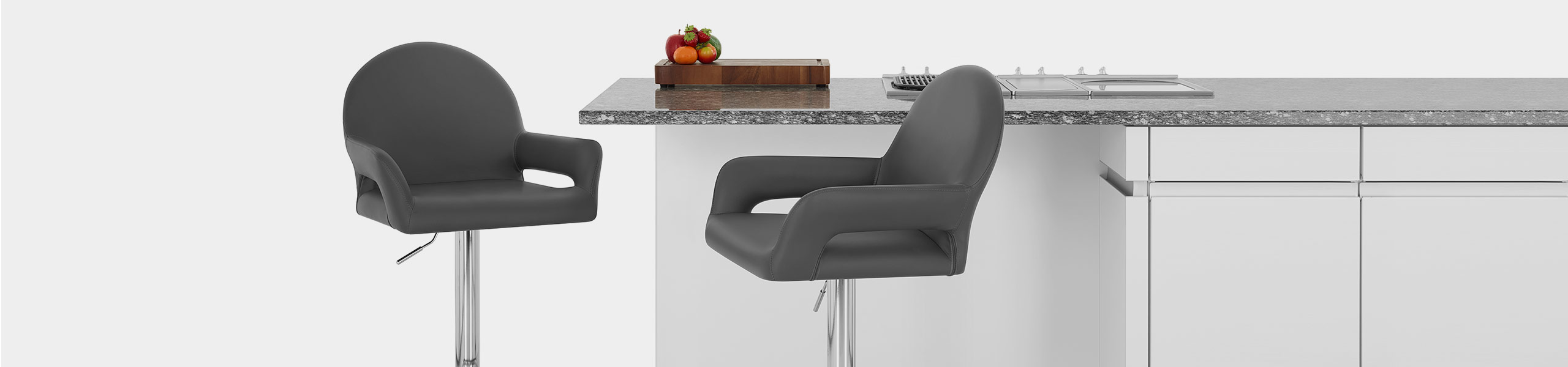 Munich Bar Stool Grey Video Banner