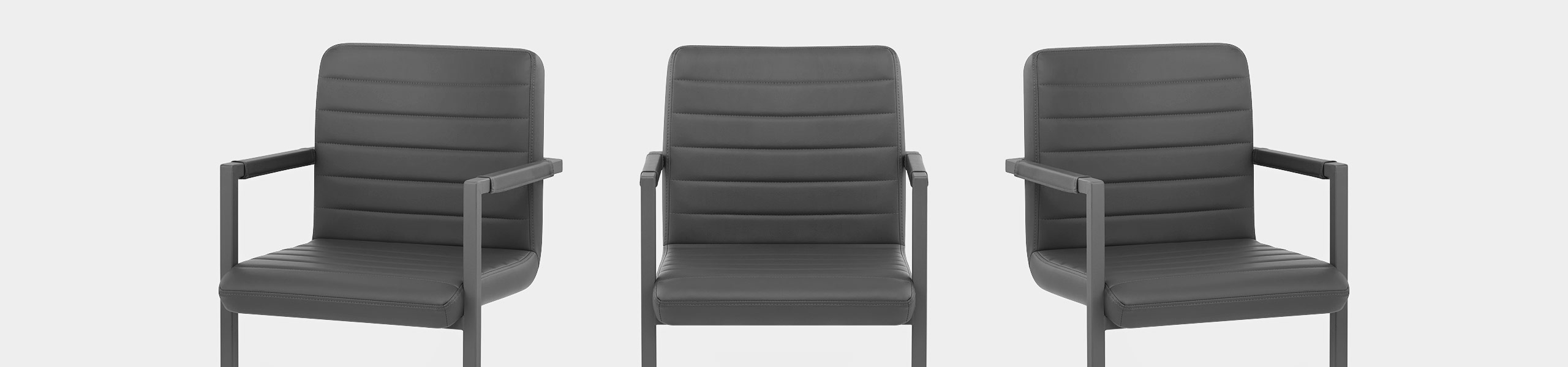 Omega Dining Chair Grey Video Banner
