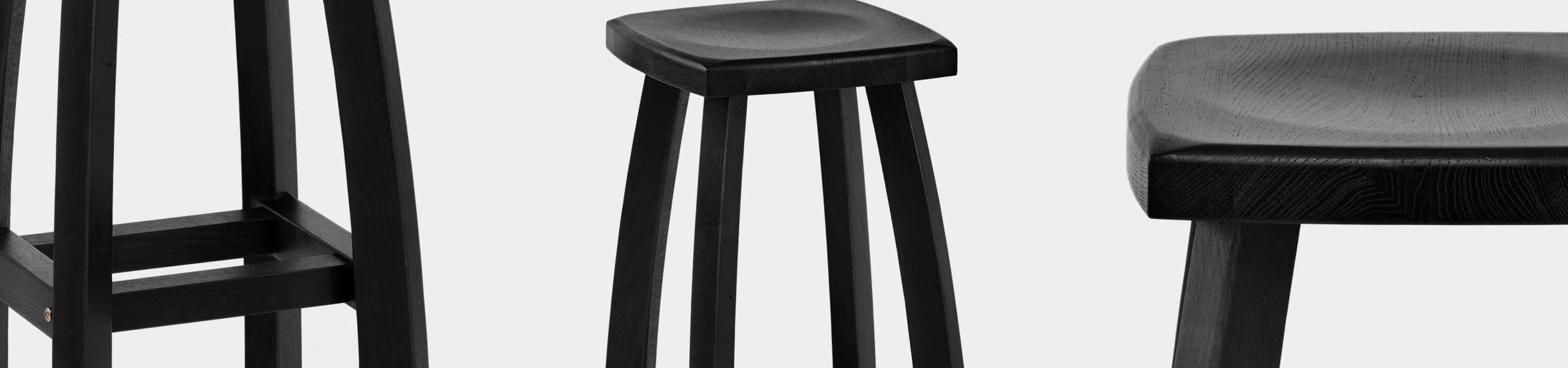 Oslo Bar Stool Black Video Banner