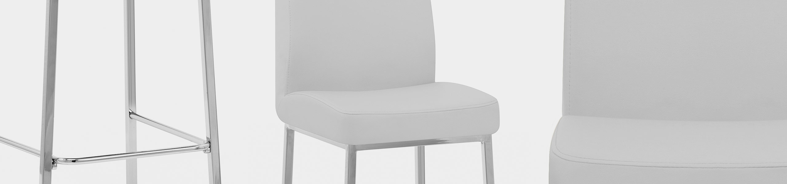 Pacino Stool White Video Banner