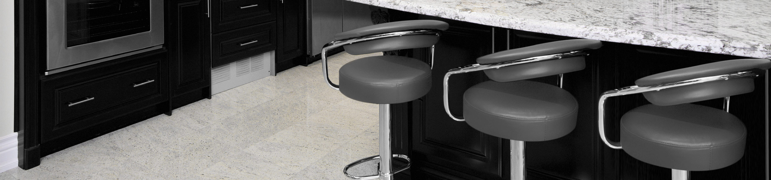Pluto Bar Stool Grey Video Banner
