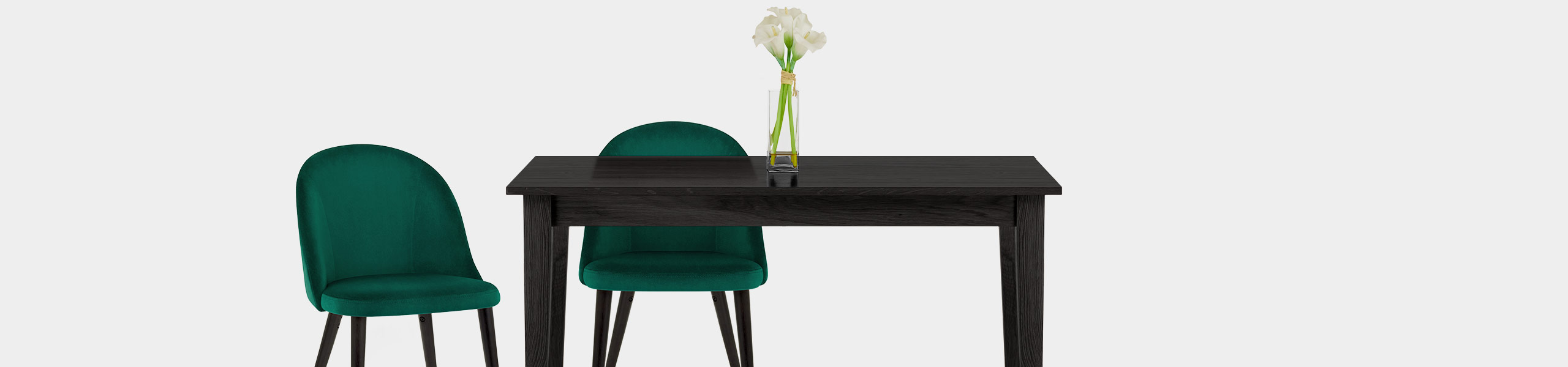 Polo Dining Chair Green Velvet Video Banner